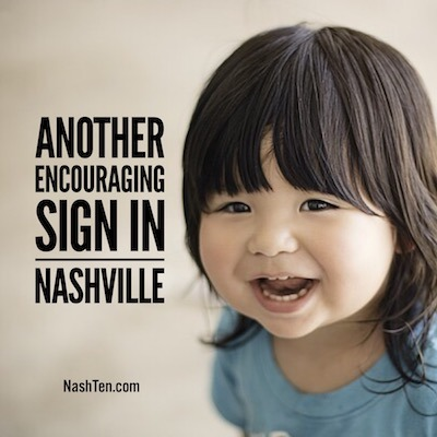 This Is Another Encouraging Sign Of The Nashville Market