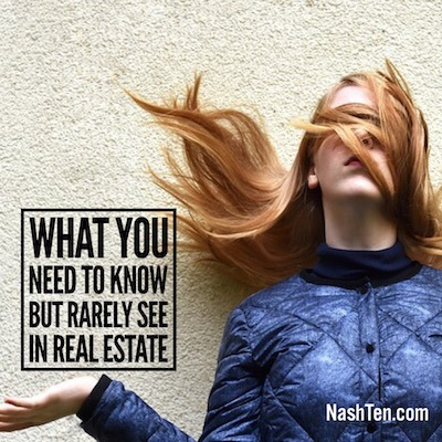 What You Need To Know But Rarely See in Real Estate