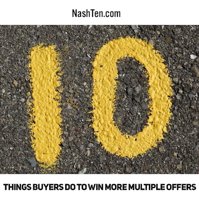 10 things buyers do to win more multiple offers