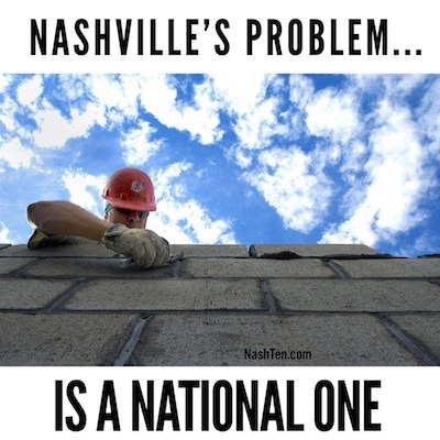 Nashville's Problem Is A National One