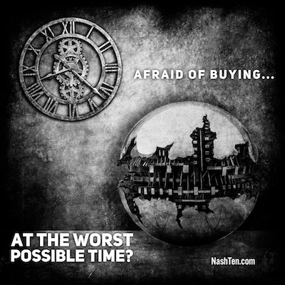 Are Are You Afraid Of Buying At The Worst Possible Time?