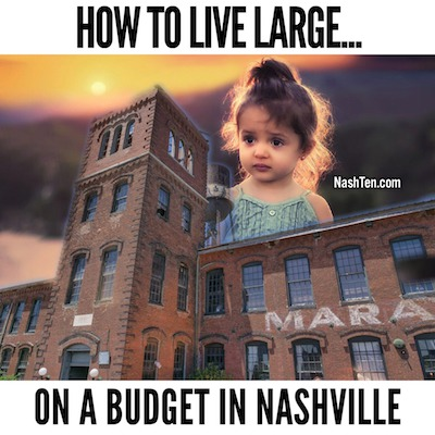 How To Live Large On A Budget In Nashville
