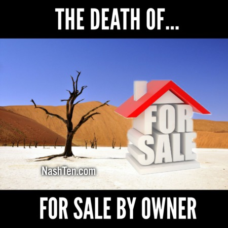 The Death of For Sale By Owner