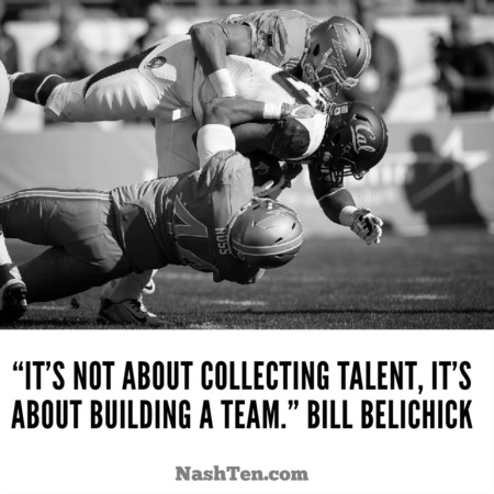 This is how Belichick (and you) build a team