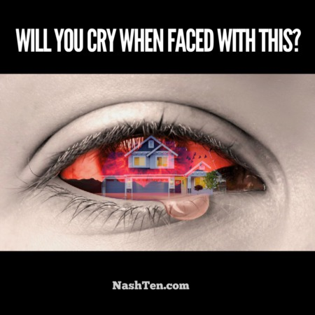Will you cry when faced with this?
