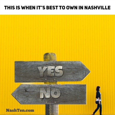 This is when it's best to own in Nashville