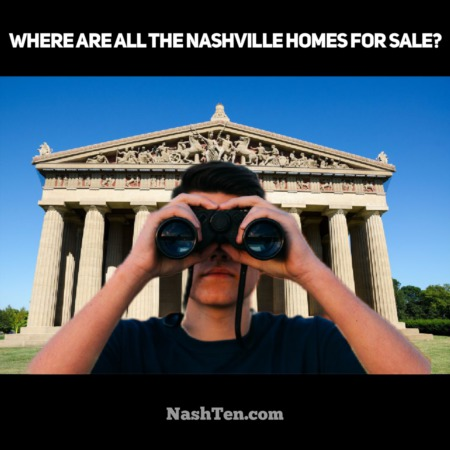 Where are all the homes for sale in Nashville?