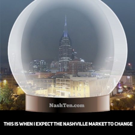 This is when I expect the Nashville market to change