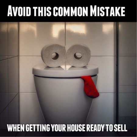 Avoid This Common Mistake When Getting Your House Ready To Sell