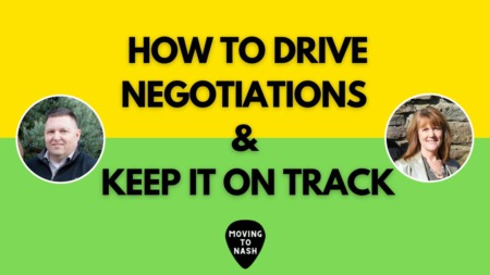 How to Drive Negotiations and Keep it on Track