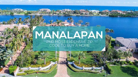 Manalapan is The 2nd Most Expensive Zip Code to Buy a Home in the US