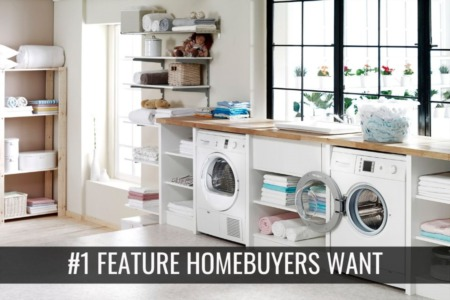 #1 Feature Homebuyers Want