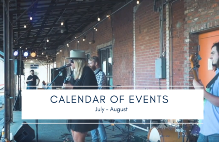 Calendar of Events | July - August 2019