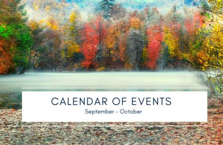 September - October Events