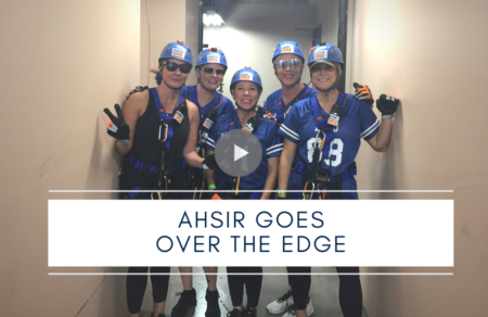 AHSIR Goes Over the Edge