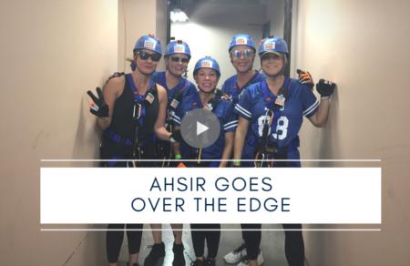 AHSIR Goes Over the Edge