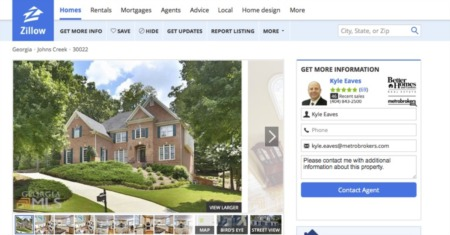 Metro Brokers Inks Zillow Deal