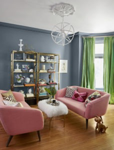 Adding Color to A Living Room