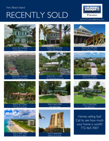 2017 Vero Beach Island Year End Real Estate Market Report