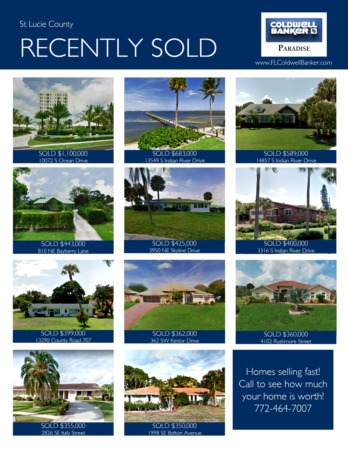 2017 St. Lucie County Year End Real Estate Market Report
