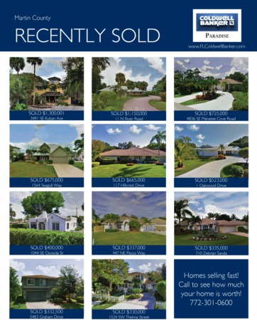 2017 Martin County Year End Real Estate Market Report
