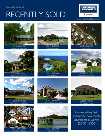 2017 Brevard Mainland Year End Real Estate Market Report