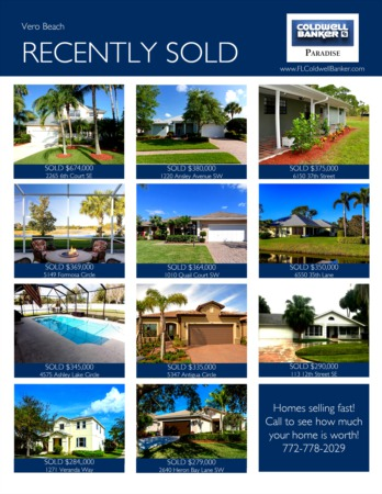 Vero Beach 2018 1st Quarter Real Estate Market Report