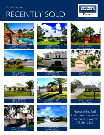 St. Lucie County 2018 1st Quarter Real Estate Market Report