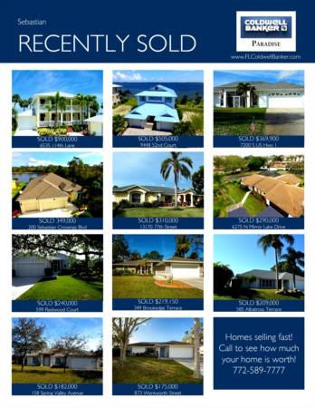 Sebastian 2018 1st Quarter Real Estate Market Report