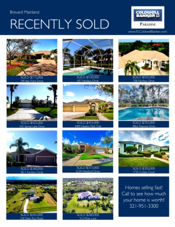 Brevard Mainland 2018 1st Quarter Real Estate Market Report