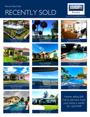 Brevard Island 2018 1st Quarter Real Estate Market Report