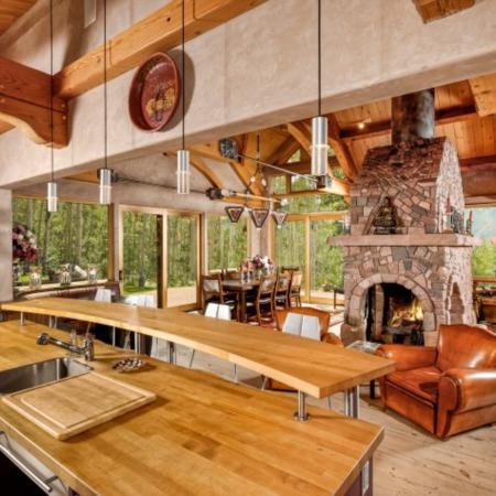 Melanie Griffith's Mountain Retreat in Aspen