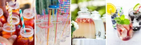 How to Create a Beautiful Drink Station for Your Backyard Party