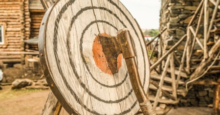 Gotta Check it Out Axe Throwing - Smoking Axes