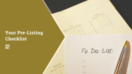 Your PreListing Checklist
