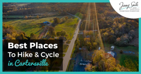 Best Places To Hike and Cycle in Cartersville