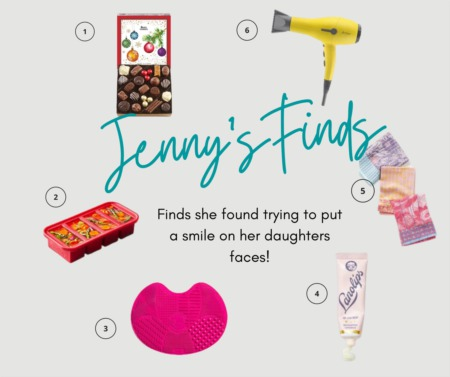 Jenny's Finds Trying To Put A Smile On Her Daughters Faces