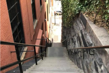 Exorcist Steps in Georgetown Now a Historic Landmark