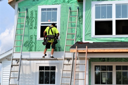 Conditions Help Keep Builder Confidence High