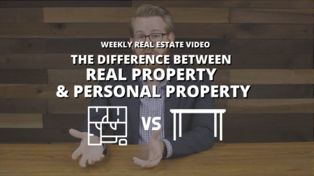 The Difference Between Real Property & Personal Property