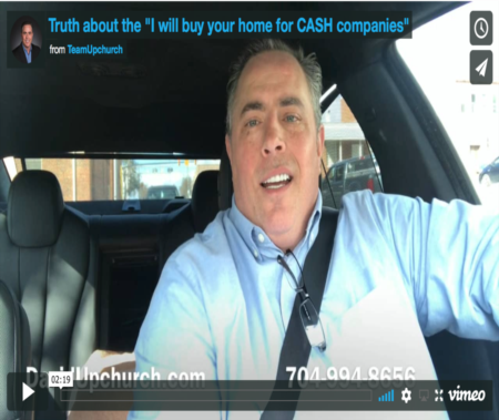 The TRUTH about the 'I will buy your home for CASH companies'