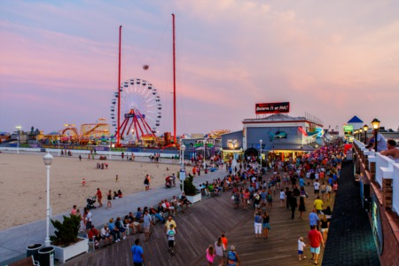 Three Amusement Parks within Three Miles- Ocean City, MD