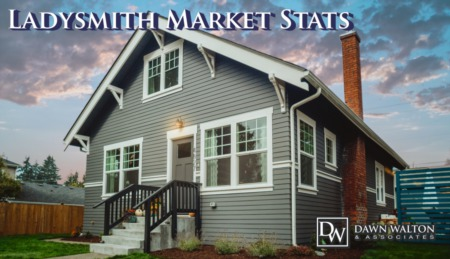 Ladysmith Vancouver Island Real Estate Market Stats December 2019