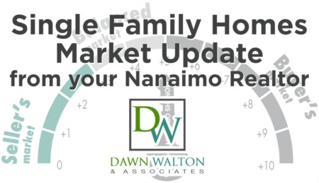 April 2020 Single Family Homes Update from your Nanaimo Realtors