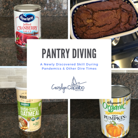 Pantry Diving: A Newly Discovered Skill During Pandemics & Other Dire Times
