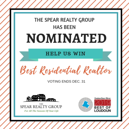 2019 Best of Loudoun | Vote The Spear Realty Group for the Best Residential Realtor