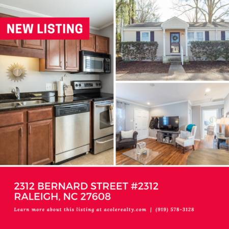 *NEW LISTING* Prime location inside the beltline with convenient access to Trader Joe's, Costco, Wegmans, Kiwanis Park, & more.
