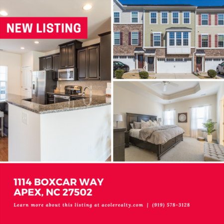 *NEW LISTING* Immaculate cul-de-sac townhome on a private wooded lot in the highly desirable Villages of Apex.