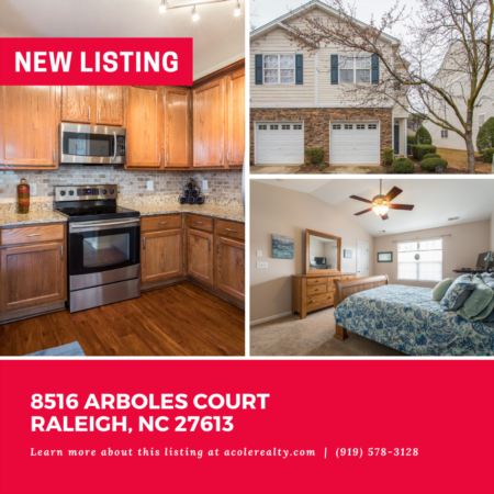 *NEW LISTING* Spectacular End Unit Townhome in a convenient location close to I-540, schools, restaurants, and shopping!