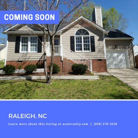 *COMING SOON* Highly sought-after ranch floor plan with one car garage at the end of a quiet cul-de-sac.